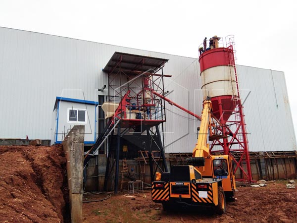 25 m3/h Portable Concrete Batching Plant