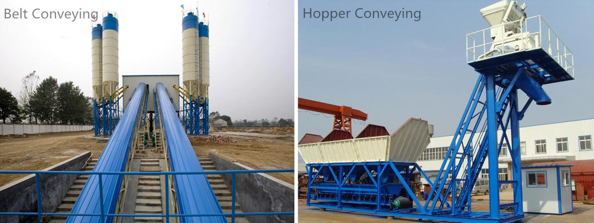 Aggregate Conveying