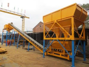 Dry Mix Concrete Plant