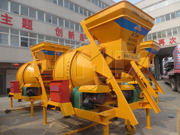 Electric Concrete Mixer