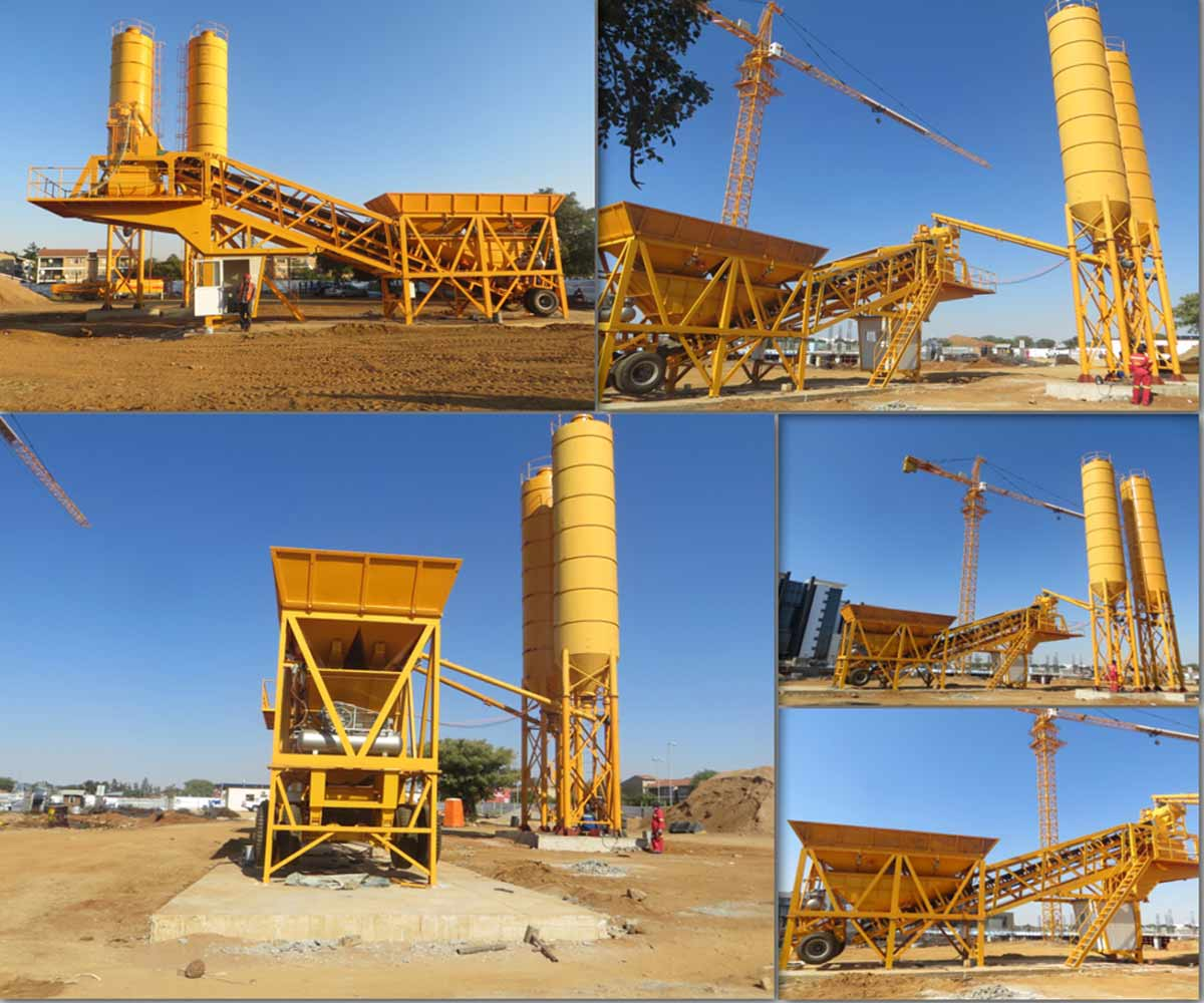 Mini Concrete Batch Plant : Quality mini mobile concrete batching plant at reasonable