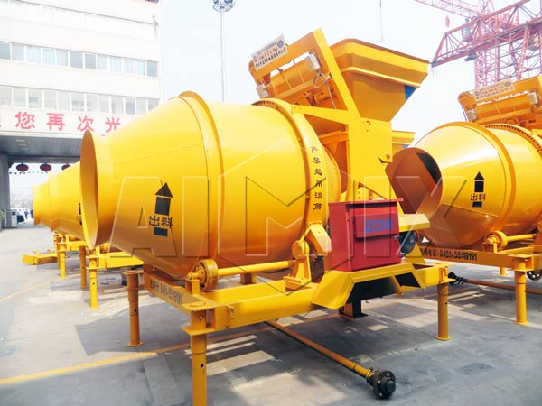 Rotating Concrete Mixer