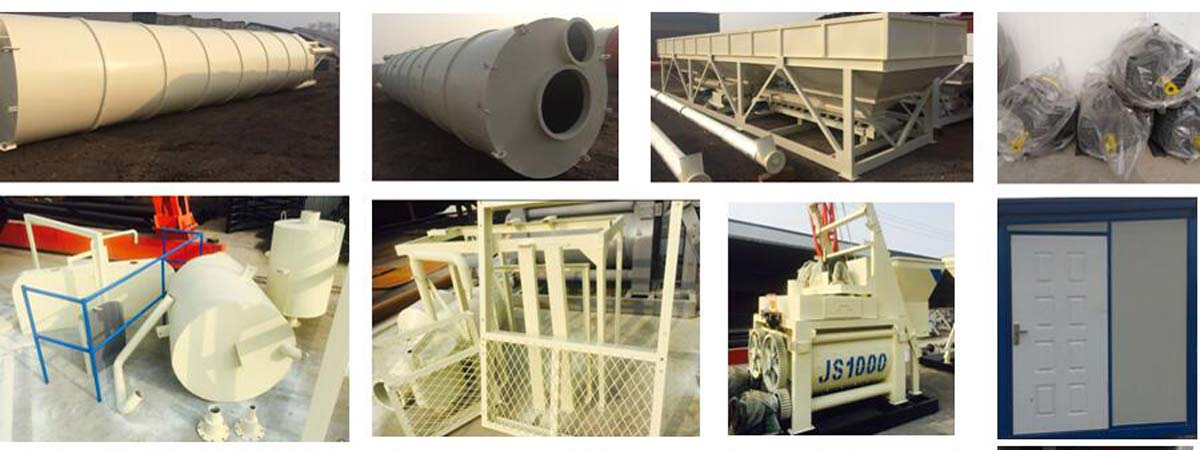 AJ-50 ready mix concrete plant to Pakistan